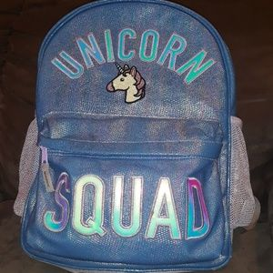 Childrens Place Heavy Duty Unicorn Squad Backpack